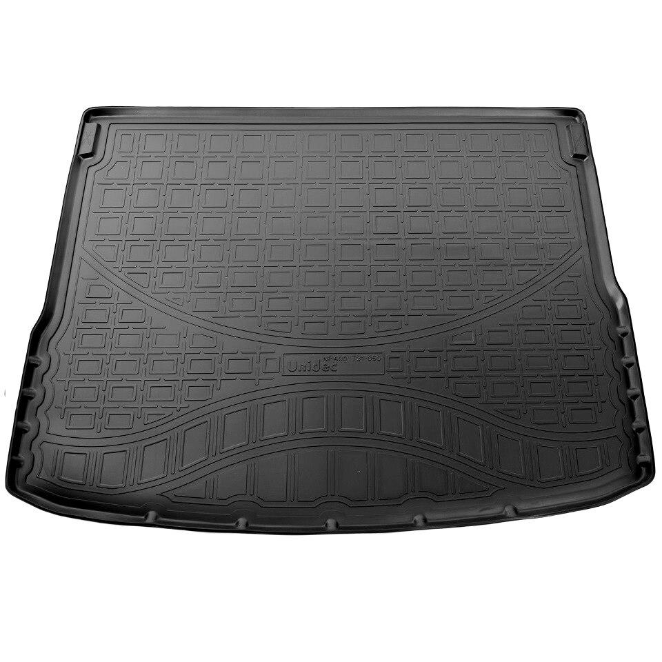 For Hyundai Creta 2016-2019 car trunk mat Norplast Unidec NPA00T31050 waterproof anti slip car trunk mat protector cover car pet dog mat for hyundai tucson black