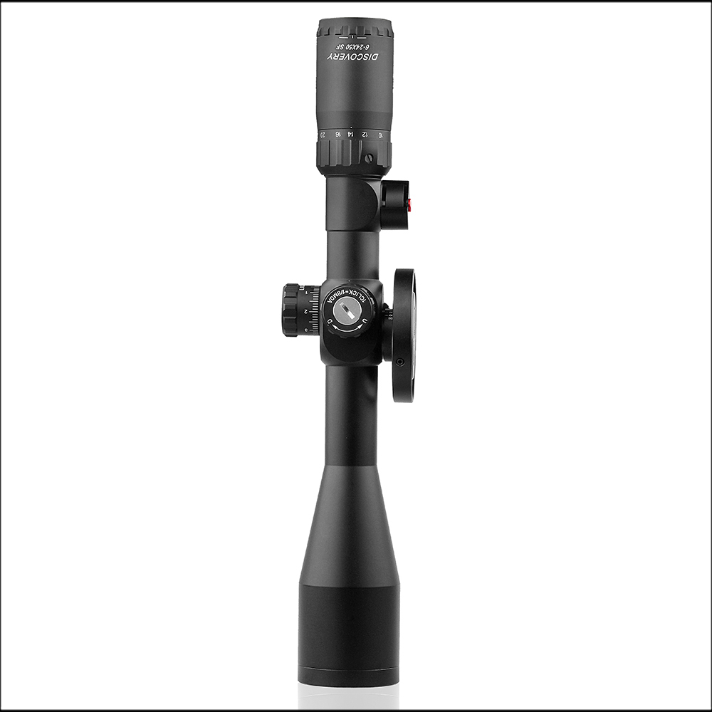 Discovery FFP Tactical Rifle Scope 30mm Tube VT 3 6 24x50SFAI Adjustments First Focal extended in Riflescopes from Sports Entertainment