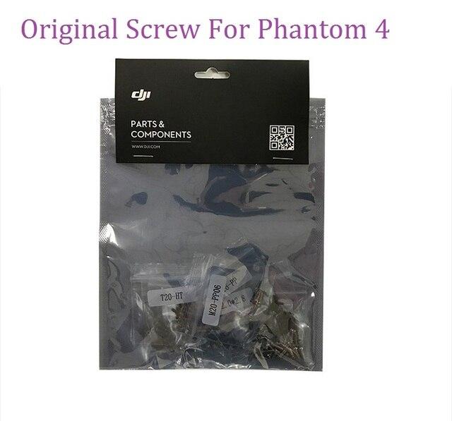 100% Original Phantom 4 Screw Set Repair Parts For DJI Phontom 4 Accessories