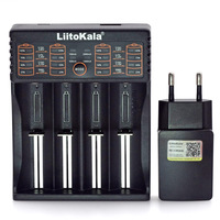 Liitokala Lii 402 Lii 202 Lii 100 Lii S2 Lii S4 Lii S6 3.7V 3.2V 26650 16340 18650 18500 NiMH lithium battery charger+5V 2A battery charger lithium battery chargerbatteries battery charger -
