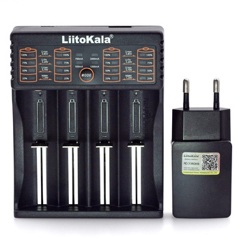 Liitokala Lii 402 Lii 202 Lii 100 Lii S2 Lii S4 Lii S6 3.7V 3.2V 26650 16340 18650 18500 NiMH lithium battery charger+5V 2A|battery charger|lithium battery chargerbatteries battery charger -