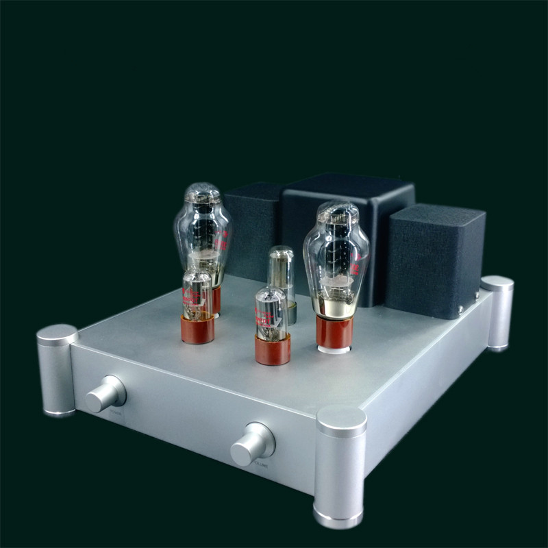 Finished DP50A 300B Tube Single-ended Pure Class A Power Amplifier 9W+9W HiFi Audio Amplifier New