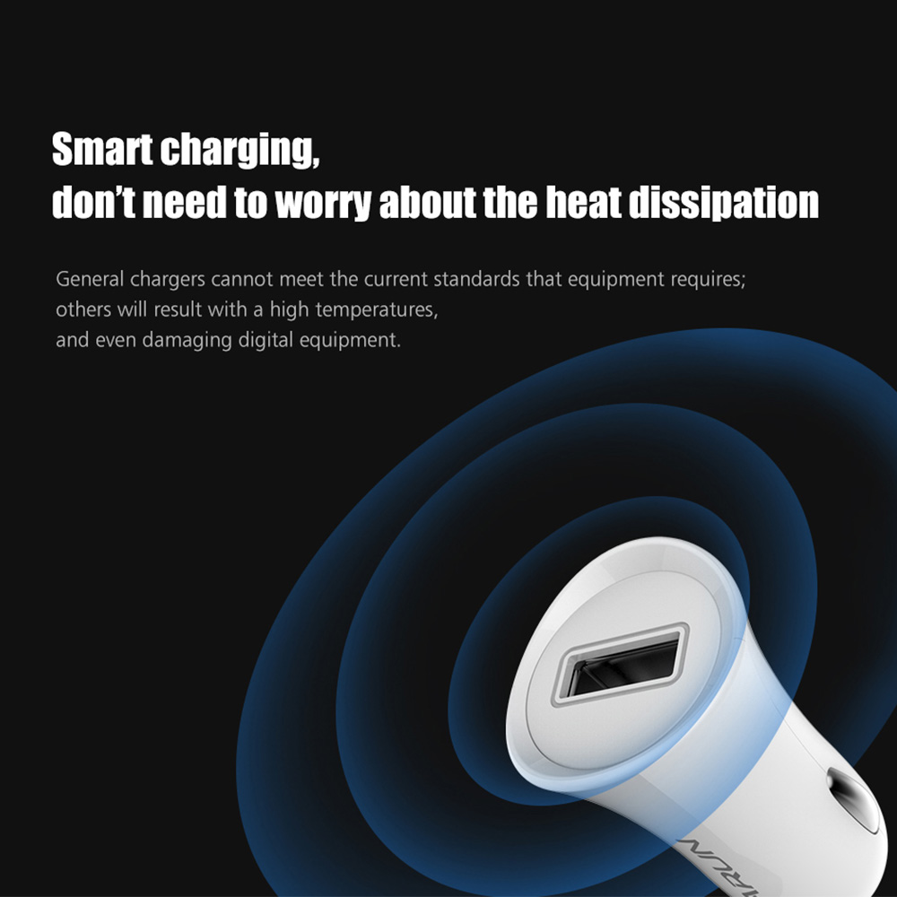 4-ARUN-White-output-USB-DC5V1A-Mobile-Phone-Travel-Adapter-Car-Charger-for-Xiaomi-Huawei-LG-Phones