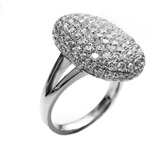 Hot Sale Romantic Vampire Twilight  Ring Crystal Engagement Wedding Rings For Women Accessories