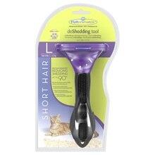 Инструмент против линьки FURminator для короткошерстных кошек больших пород