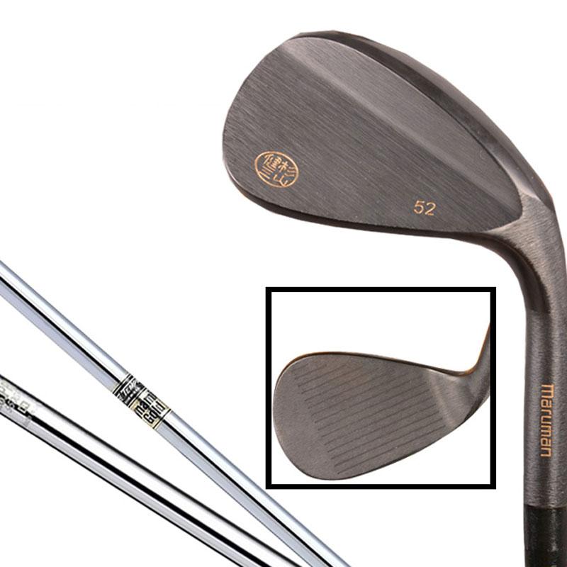 купить New mens Cooyute Golf clubs set Maruman Black color Golf Wedges 52.56.60 degree 1/pcs steel Golf shaft Clubs Free shipping по цене 10607.61 рублей