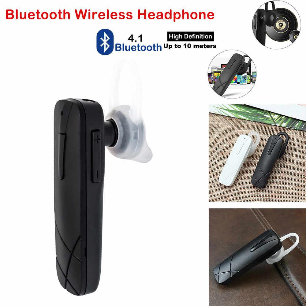 Bluetooth 4.1 イヤホン制御ポータブルマイクスポーツサムスンサポート音楽、ノイズキャンセルヘッドセット機能