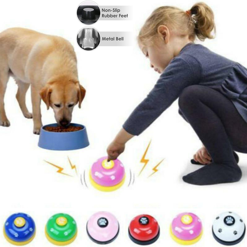 IQ Training font b Pet b font Bell Called Dinner Supplies Trainer Bells Wholesale Training Cat