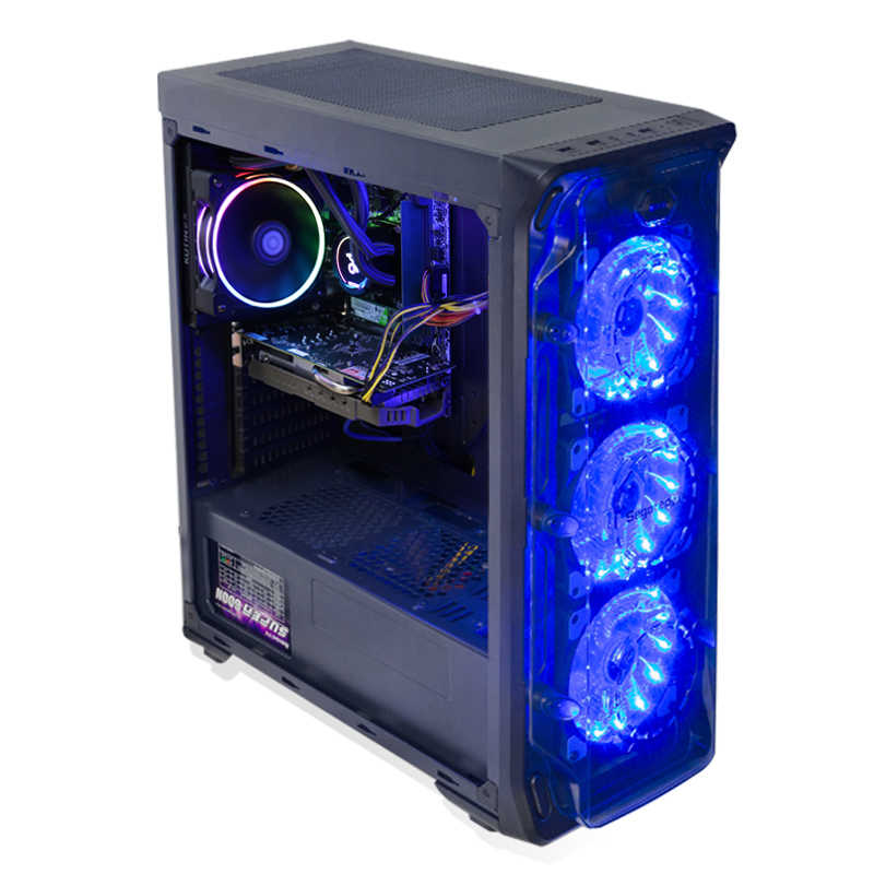 Gaming desktop Kotin GBW-1 / i7-8700 / 16G / 240G SSD+2T / GTX1060-6G /  Water Cooling / Dos