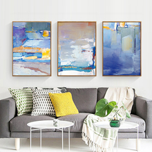 SD LINLEEHON Abstract pattern color oil painting on Canvas wall picture for Living Room posters and prints  Unframed