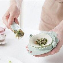 2 unids/set trigo paja albóndigas dispositivo + cuchara de relleno pastel gadget colgando albóndigas molde cocina DIY esencial Herramientas 4 colores