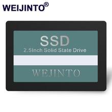 WEIJINTO SSD 360 Гб SATA3 2,5 дюйма 60 ГБ 120 ГБ 240 ГБ 128 ГБ 256 ГБ 480 ГБ 512 ГБ 960 ГБ 1 ТБ жесткий диск HD HDD для настольного ноутбука