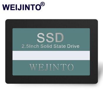 Weijinto ssd 360 ギガバイトSATA3 2.5 インチ 60 ギガバイト 120 グラム 240 ギガバイト 128 ギガバイト 256 ギガバイト 480 ギガバイト 512 ギガバイト 960 ギガバイト 1 テラバイトハードドライブディスクhd hddデスクトップノートpc用