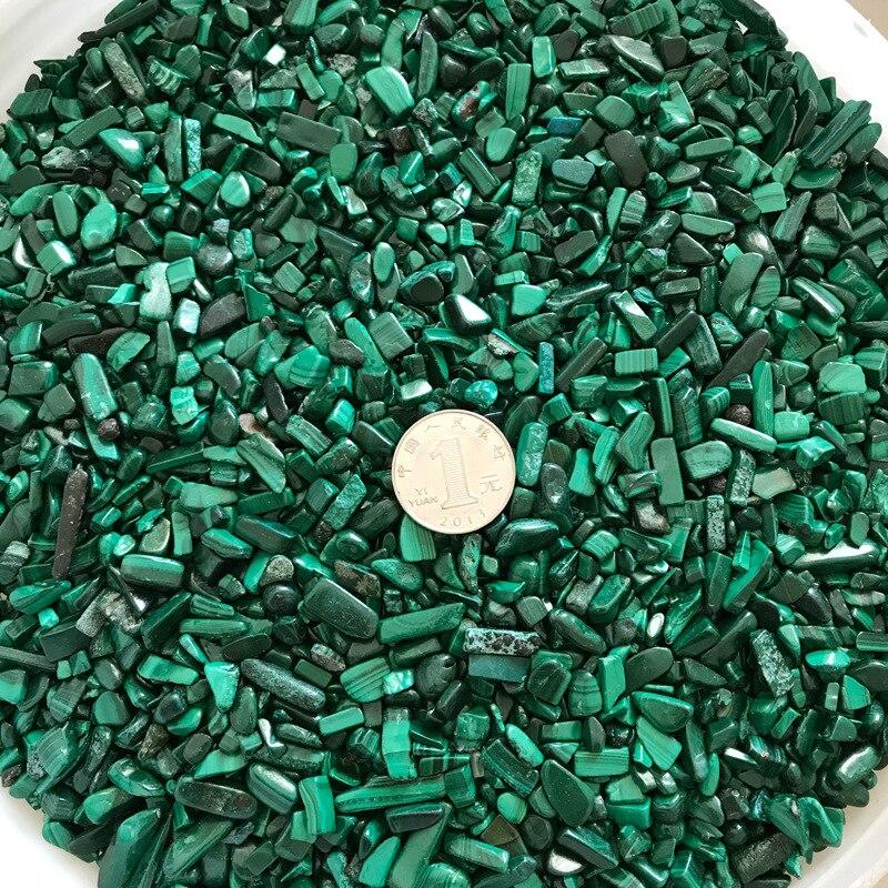 1Kg pierre de Malachite naturelle Chrysocolla gravier roche cristal Quartz brut pierre gemme minéral spécimen réservoir de poisson décoration de jardin - 2