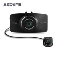 Azdome G5WD Dual Lens Dash Cam Car Dvr Two Cameras Full HD 1080p 3.0