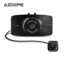 """Azdome G5WD Dual Lente Dash Cam Car Dvr Dos Cámaras Full HD 1080 p 3.0 """"lcd H.264 Pantalla ADAS Auto Cámara de Vídeo grabadora"""