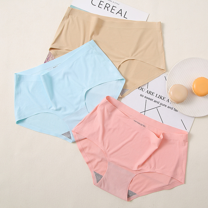 Best selling New stylish sexy underwear women seamless comfortable seamless panties women's briefs Women's Intimates 12 color