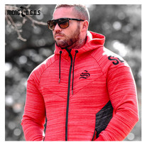2018 New Brand Autumn Winter Bodybuilding Hoodies Men Animal Gyms Sweatshirts Long Sleeve Cotton Sportwear Fitness