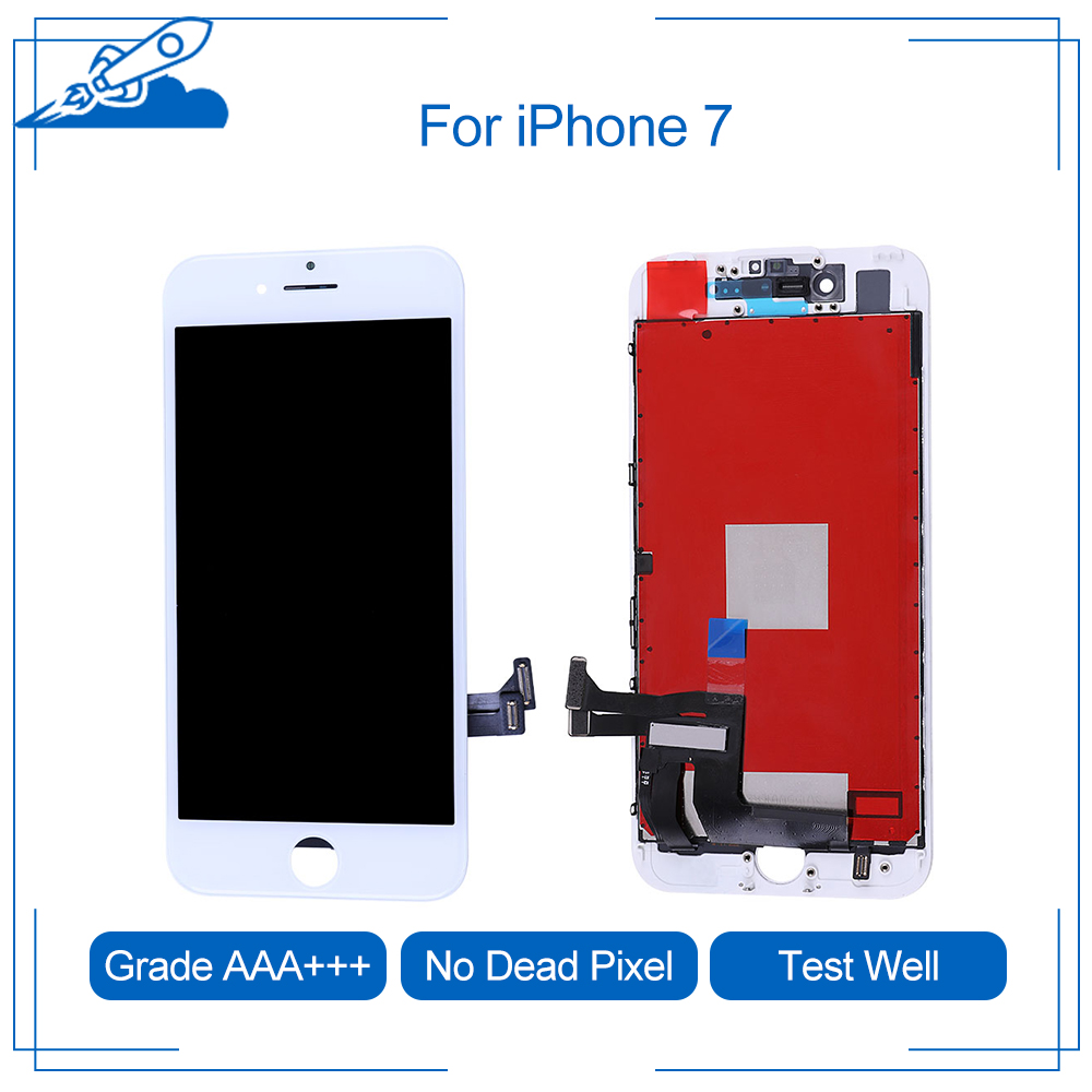 Elekworld Grade AAA Screen For IPhone 6 7 8 Plus X LCD Display 3D Force Touch Screen Digitizer Assembly No Dead Pixel