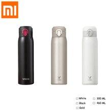 Xiaomi VIOMI Termos Bardak Mijia 300 ml/460 ml Paslanmaz Çelik termos Taşınabilir vakumlu su şişesi Termos Bardak 24 Saat