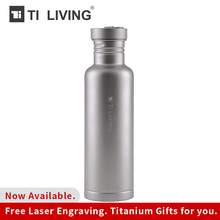 800ML Titanium Water Bottle Sports Flask Wide Mouth Bottle for Yoga Biking Camping Hiking Travel Outdoor Camping Hiking цена и фото