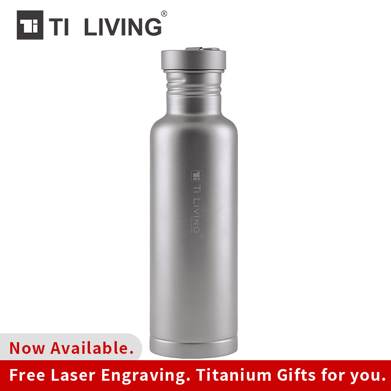 Tikungfu Titanium Flask Water Bottle Kettle Drinkware Outdoor Tableware Sports 800 ml Camping Cycling Light Hiking FlaskTikungfu Titanium Flask Water Bottle Kettle Drinkware Outdoor Tableware Sports 800 ml Camping Cycling Light Hiking Flask