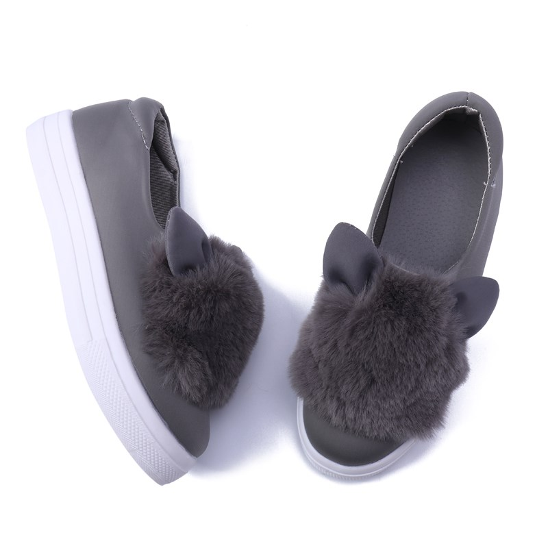 f86ae9d650293 YJP Rabbit Ears Women Flat Shoes