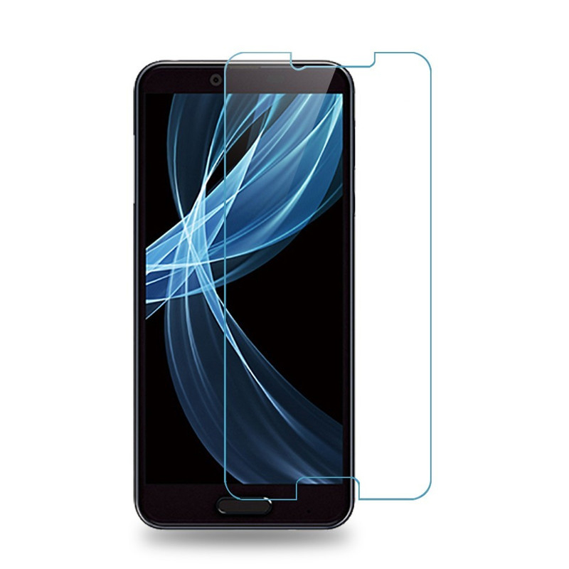50pcs High quality 2 5D 9H SH M07 Tempered Glass Screen Protector for AQUOS Sense Plus Glass screen protective film Wholesales in Phone Screen Protectors from Cellphones Telecommunications