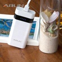 ARUN 10000mah Power Bank External Battery PoverBank 2 USB Powerbank Portable Mobile phone Charger for Xiaomi MI iphone XS huawei