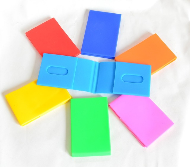 Silicone Id Card Holer Name Card Case Business Card Holderfood