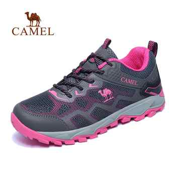 CAMEL Women Outdoor Hiking Shoes Non-slip Breathable Durable Anti-impact Comfortable Travel Hiking Trekking Trail Shoes - DISCOUNT ITEM  40% OFF Sports & Entertainment