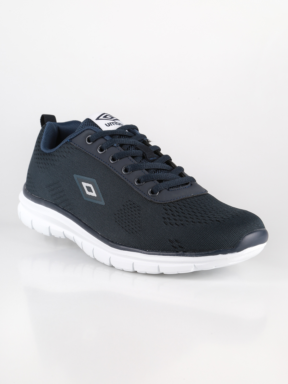Mesh-running Shoes Dark Blue Men