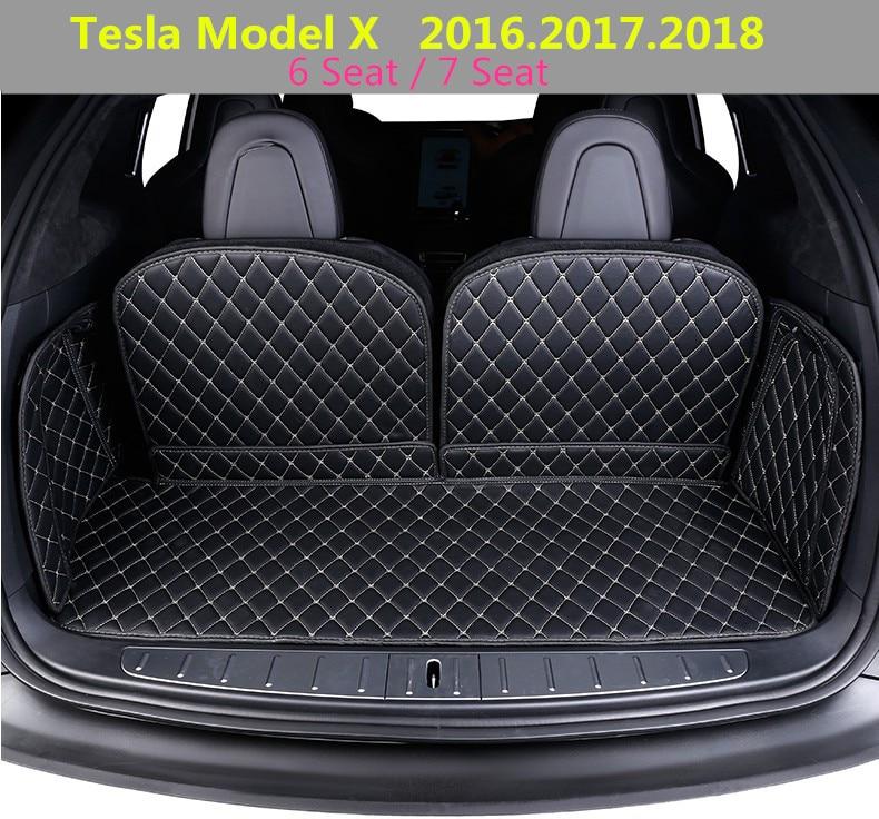 For Tesla Model X 2016 2017 2018 Full Rear Trunk Tray