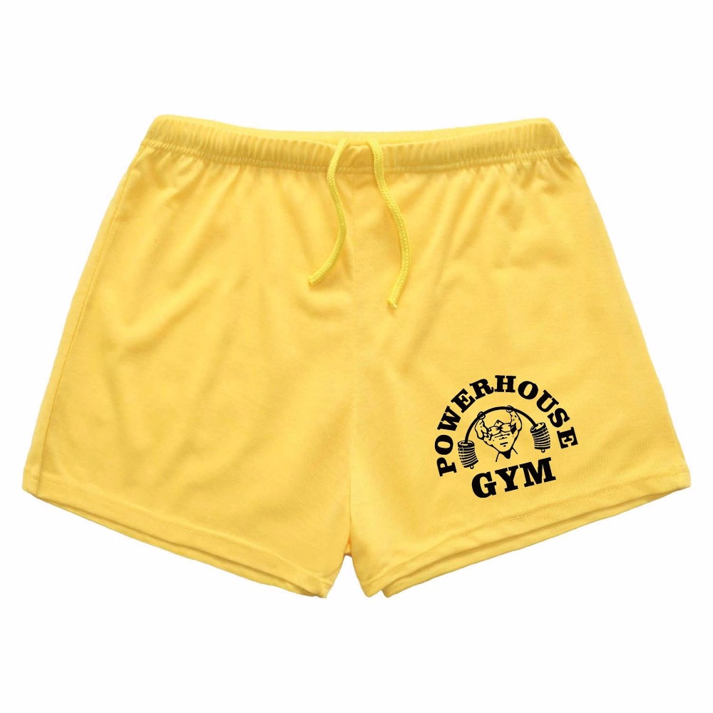 TANKCORPS Men's   Board     Shorts   Gold & Powerhouse Fitness & Bodybuilding Workout   Shorts  ,Drawstring   Shorts   For Man Cotton   Short