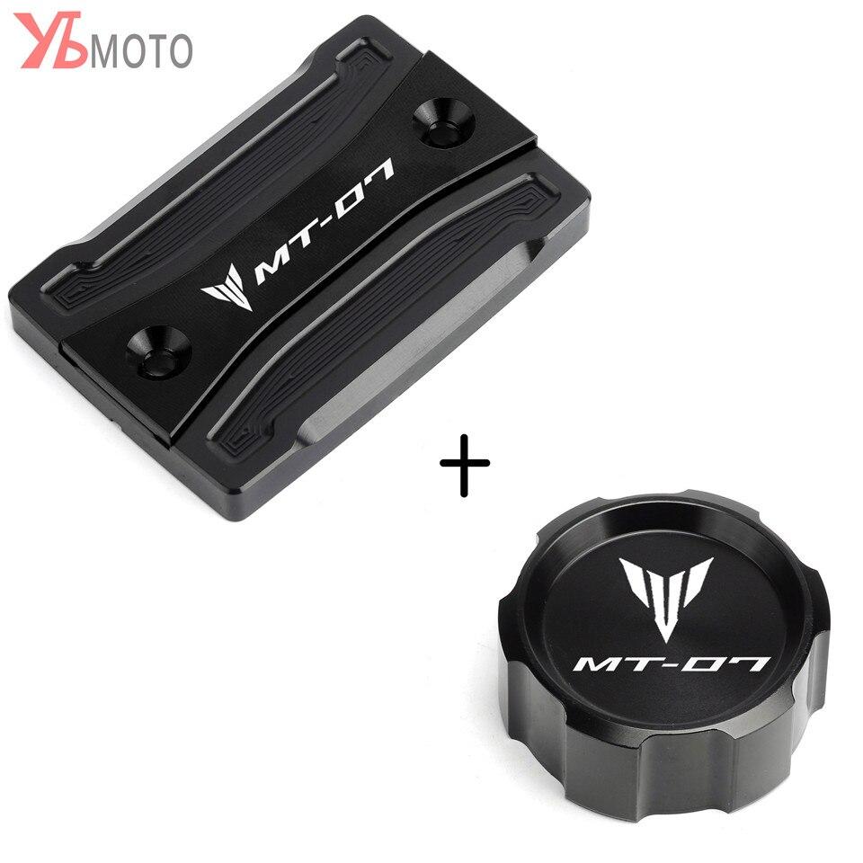 Tapa de dep/ósito de l/íquido de frenos traseros de motocicleta de alta calidad para Yamaha MT-07//FZ-07 2014-2018 MT-09//FZ-09 2013-2018 MT-25 MT-03 2015-2018