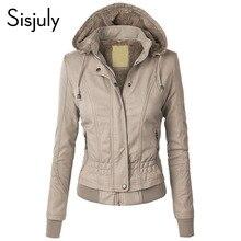 Sisjuly Jacket Coat Women 2019 Winter Slim Zipper Hooded Coat Female Warm Casual