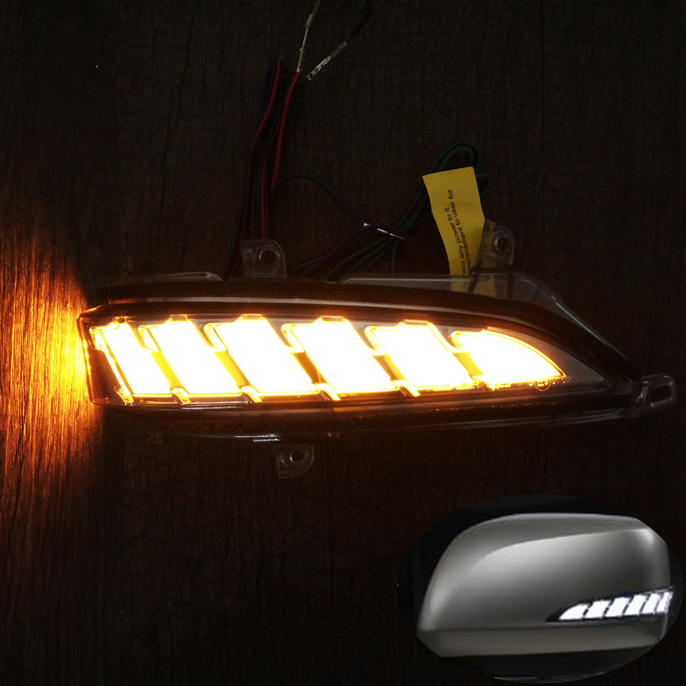 Dynamic Turn Signal Light Parking Position LED Side Mirror Sequential Indicator For Lexus LX570 LX 570