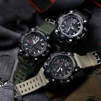 2019 SMAEL Luxury Brand Mens Sports Watches Dive Digital LED G Style Military Watch Men Casual Electronics Wristwatches Relojes