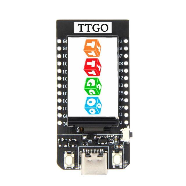 LILYGO®TTGO T תצוגת ESP32 WiFi ו bluetooth מודול פיתוח לוח 1.14 אינץ LCD בקרת לוח