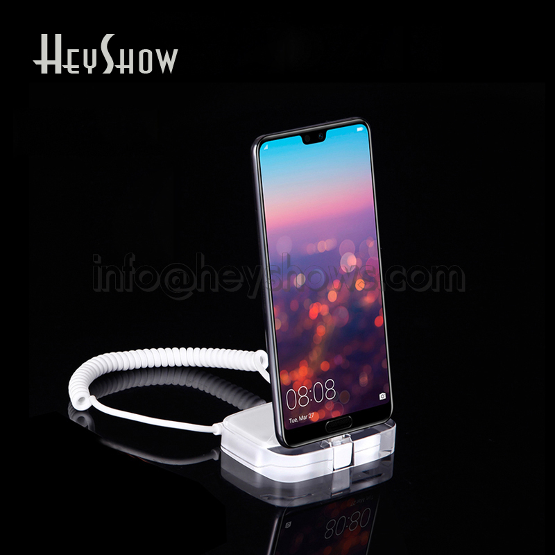 Mobile Phone Security Display Stand Acrylic iphone Burglar Alarm System Anti Theft For Huawei Apple Samsung Retail StoreMobile Phone Security Display Stand Acrylic iphone Burglar Alarm System Anti Theft For Huawei Apple Samsung Retail Store