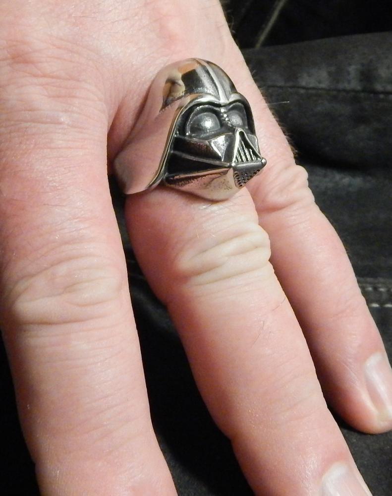 Product Reviews | Buy Star Wars Darth Vader Mask Shaped Ring