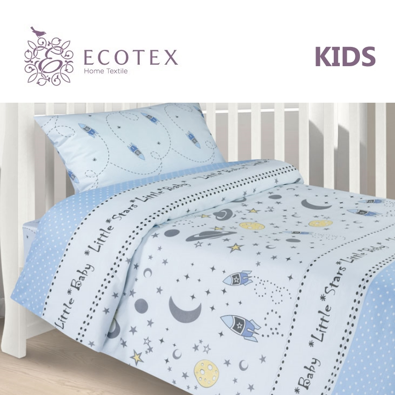 Фото - Baby bedding Little stars,100% Cotton. Beautiful, Bedding Set from Russia, excellent quality. Produced by the company Ecotex flower print bedding set