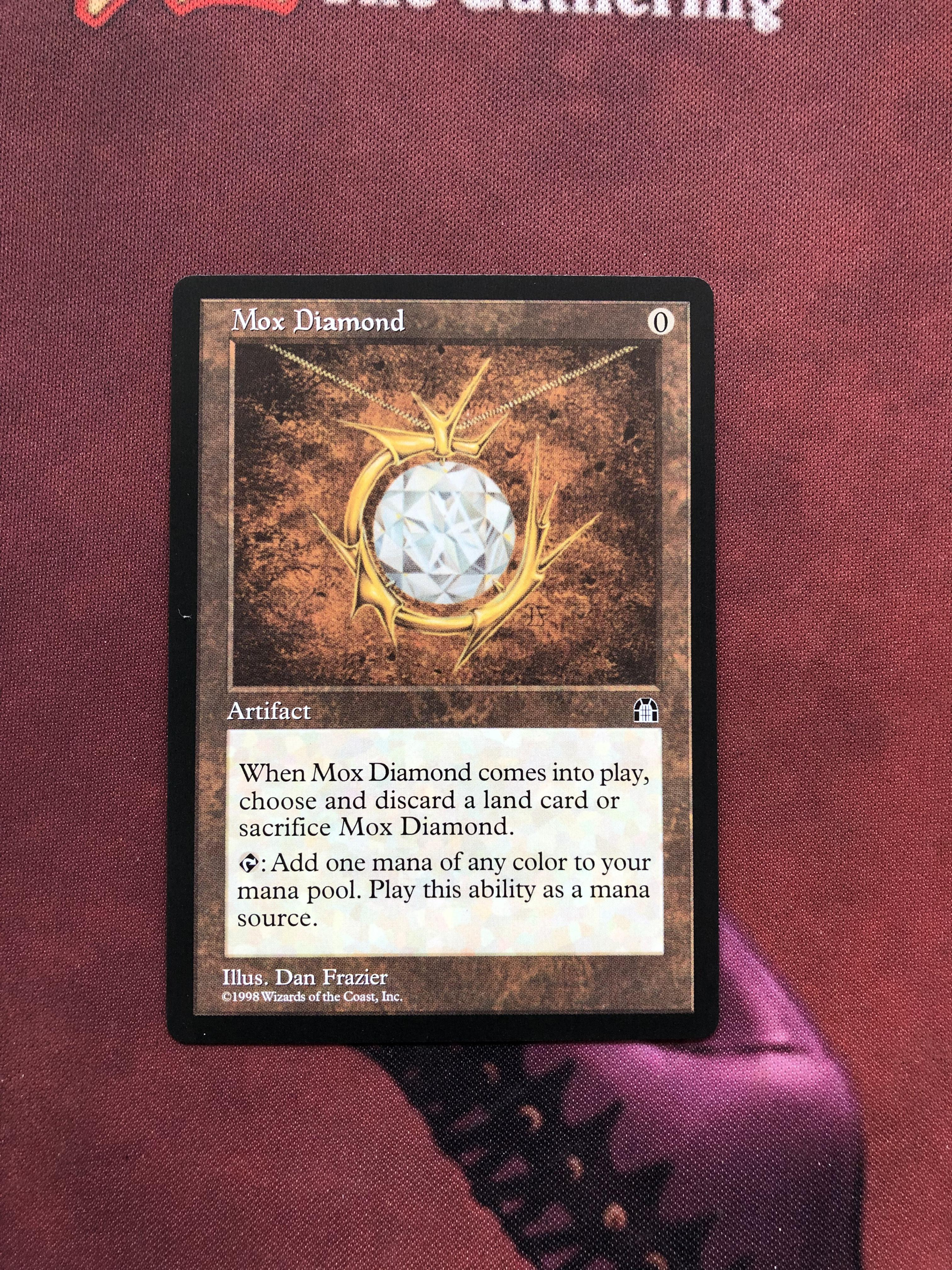 Mox Diamond Stronghold Magician ProxyKing 8.0 VIP The Proxy Cards To Gathering Every Single Mg Card.