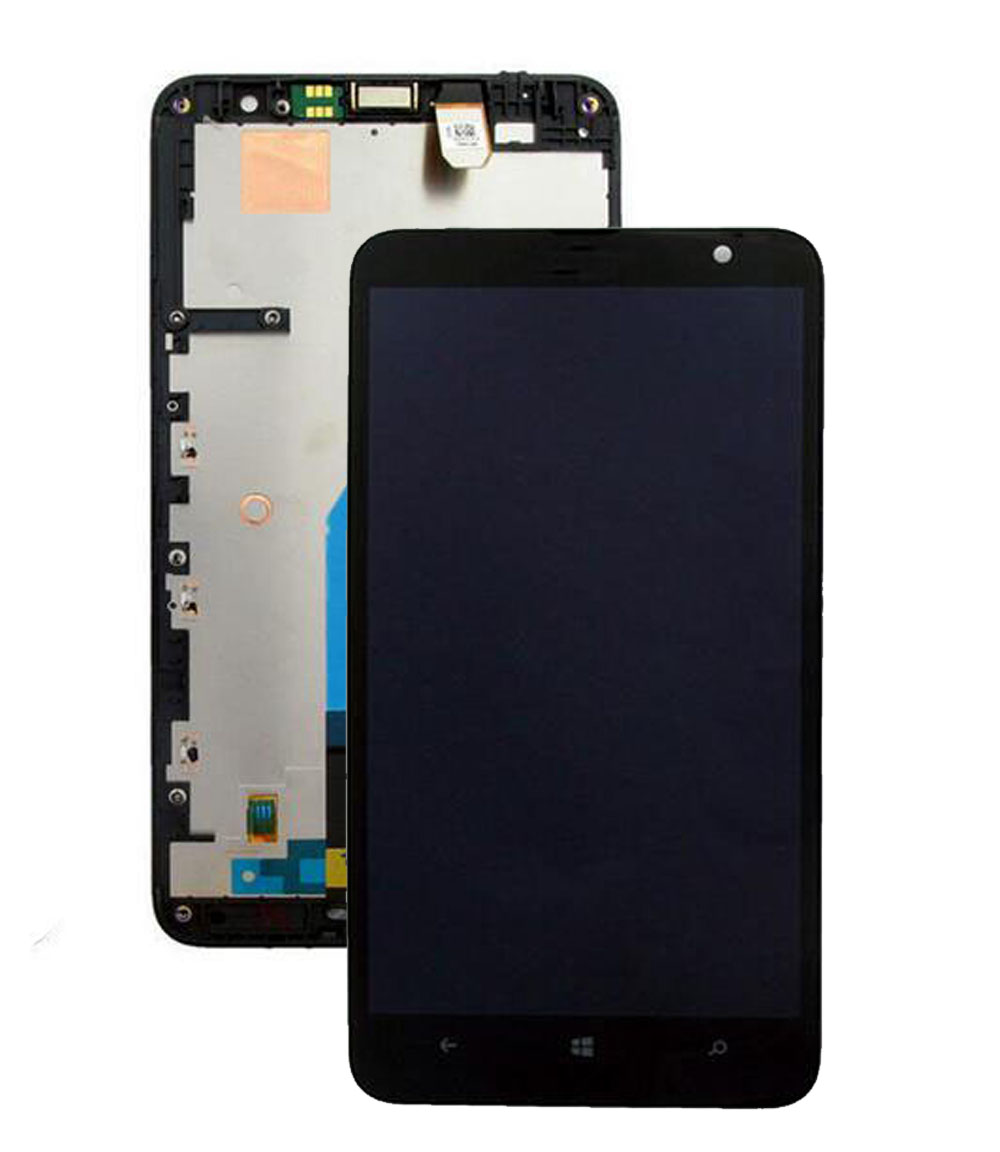 STARDE Replacement LCD For <font><b>Nokia</b></font> Lumia <font><b>1320</b></font> LCD Display Touch Screen Digitizer Sense Assembly Frame 6