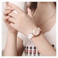 Quartz Wrist Watches Fashion Watches Women Men Casual Dress Luxury Gold Ladies Rhinestone Waterproof