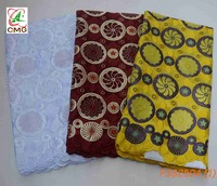 New Design 100% Swiss Cotton Lace African Fabric Lace Voile Lace Embroidery Lace For Wedding &Party Dress Material 5Yards/Lot