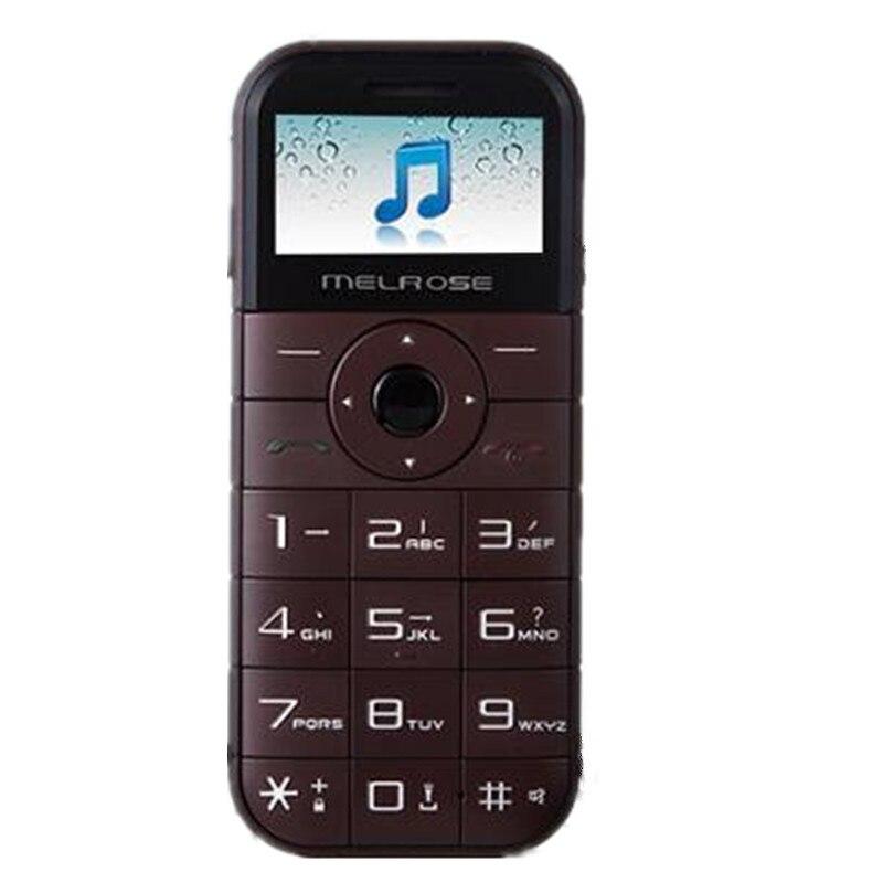 Melrose C1 2800mah GSM New Cell-Phone-Back-Camera Power-Bank Original Playback Mini FM
