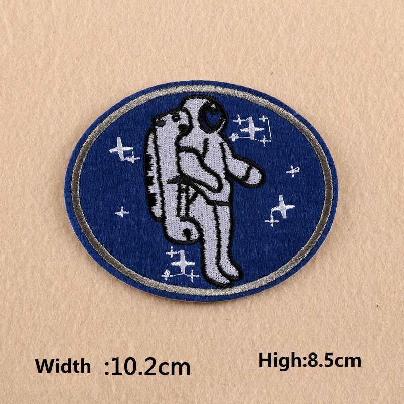 حار مطرزة زين للقماش تعلق على رائد الفضاء سلاح الجو غواص شعار بوتيك الجيش التصحيح مع اللثة السفينة حرة
