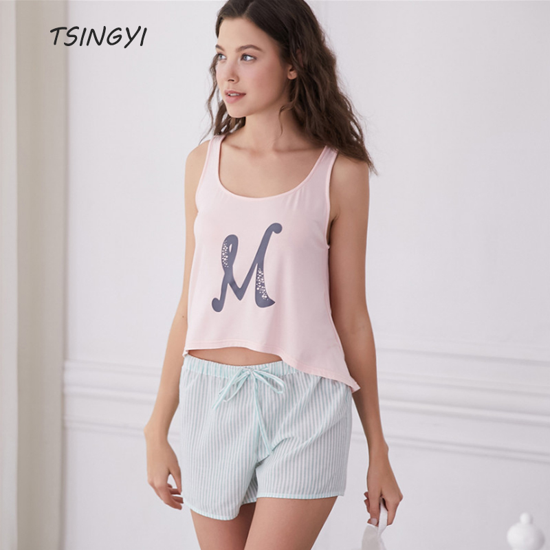 Excellent Cheap Price Pieces Striped Sleeveless Top Women Pink Discount Cheap Amazon 631sfgk