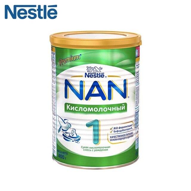 Детская Смесь NAN 1 Кисломолочный (Nestle) с рождения 400г